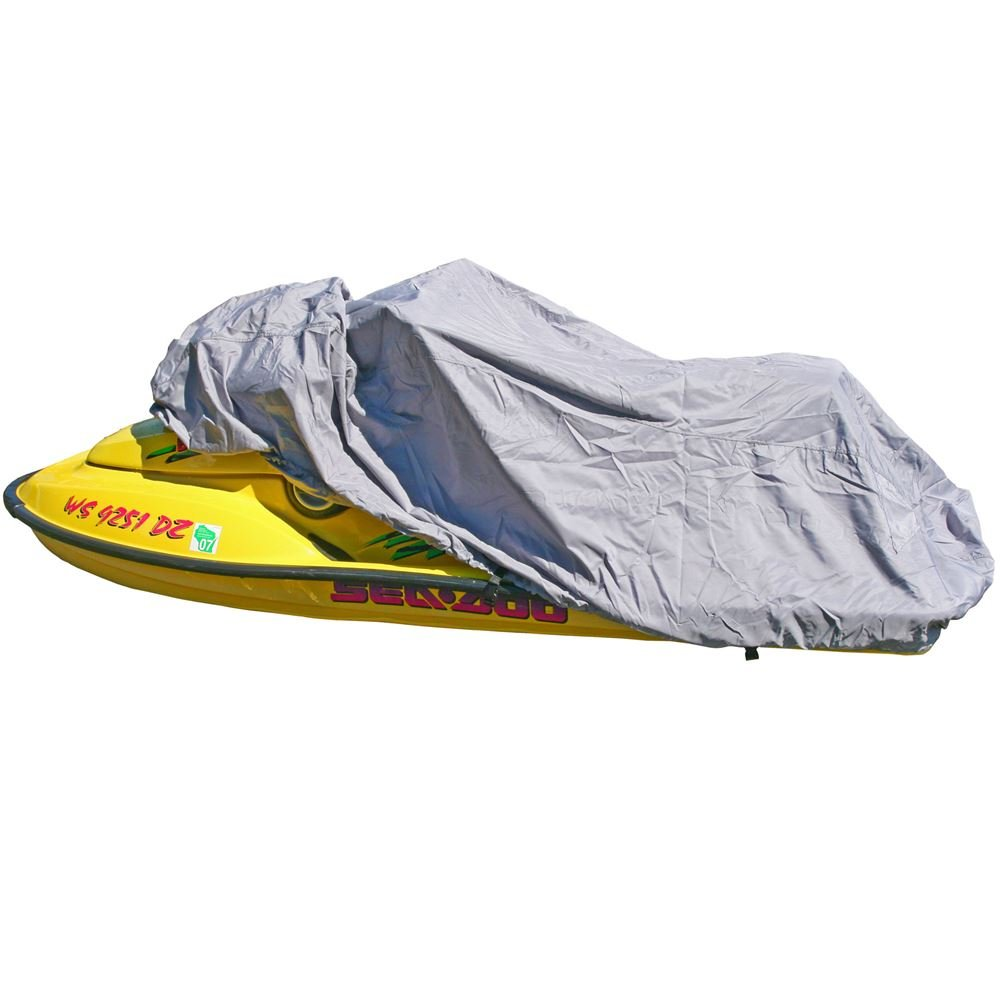 Rage Powersports 116'' to 135'' Heavy Duty Silver 3-Person Personal Watercraft Cover 300D