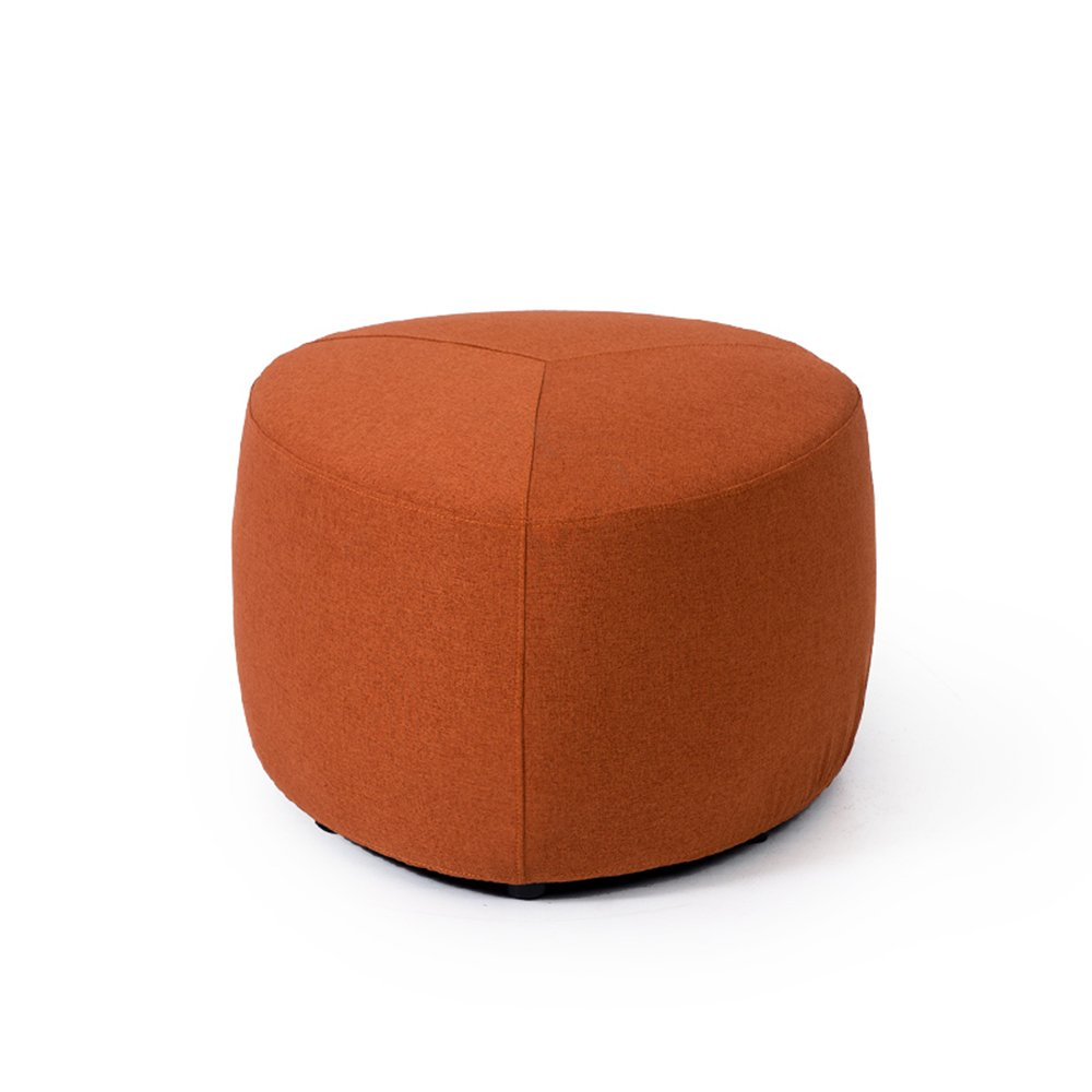 Creative Lazy Sofa Stool/Round Stool/Cloth Stool/Living Room Stool/Coffee Table Stool/Soft Surface Thick Stool/Bed Stool Fabric Footstool/Home stools / 575738cm (Color : 3)