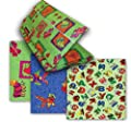 KinderMat Cover - PillowCase Style Full Sheet for Nap Mats 19 X 45 Inches