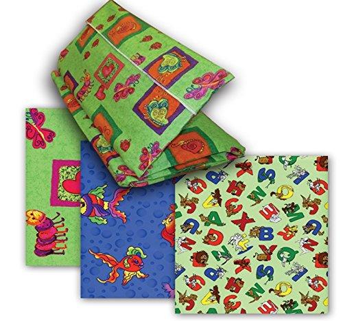 KinderMat Cover, PillowCase Style Full Sheet for Rest Mats