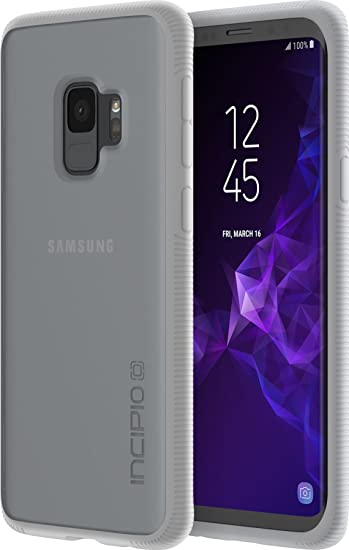 new product 63121 fe4e6 Incipio Octane Samsung Galaxy S9 Case with Textured Bumper and Hard Shell  Back for Samsung Galaxy S9 (2018) - Frost