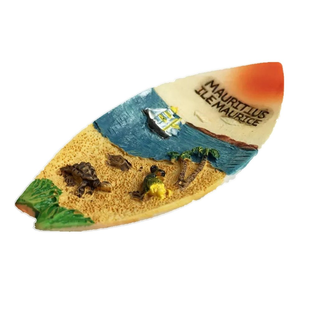 Mauritius Kühlschrank-Magnet 01