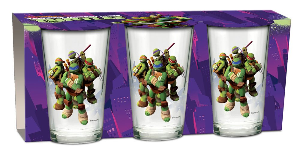 Tortugas Ninja Pack de 3 Vasos para Zumo: Amazon.es ...