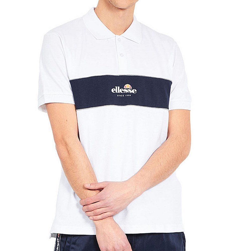 Ellesse Pirlo Polo, Hombre, Blanco (Optic White), M: Amazon.es ...