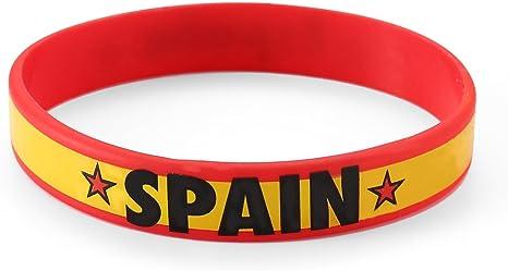 Komonee España Rojo Copa Mundial Juegos Olímpicos Pulsera de ...