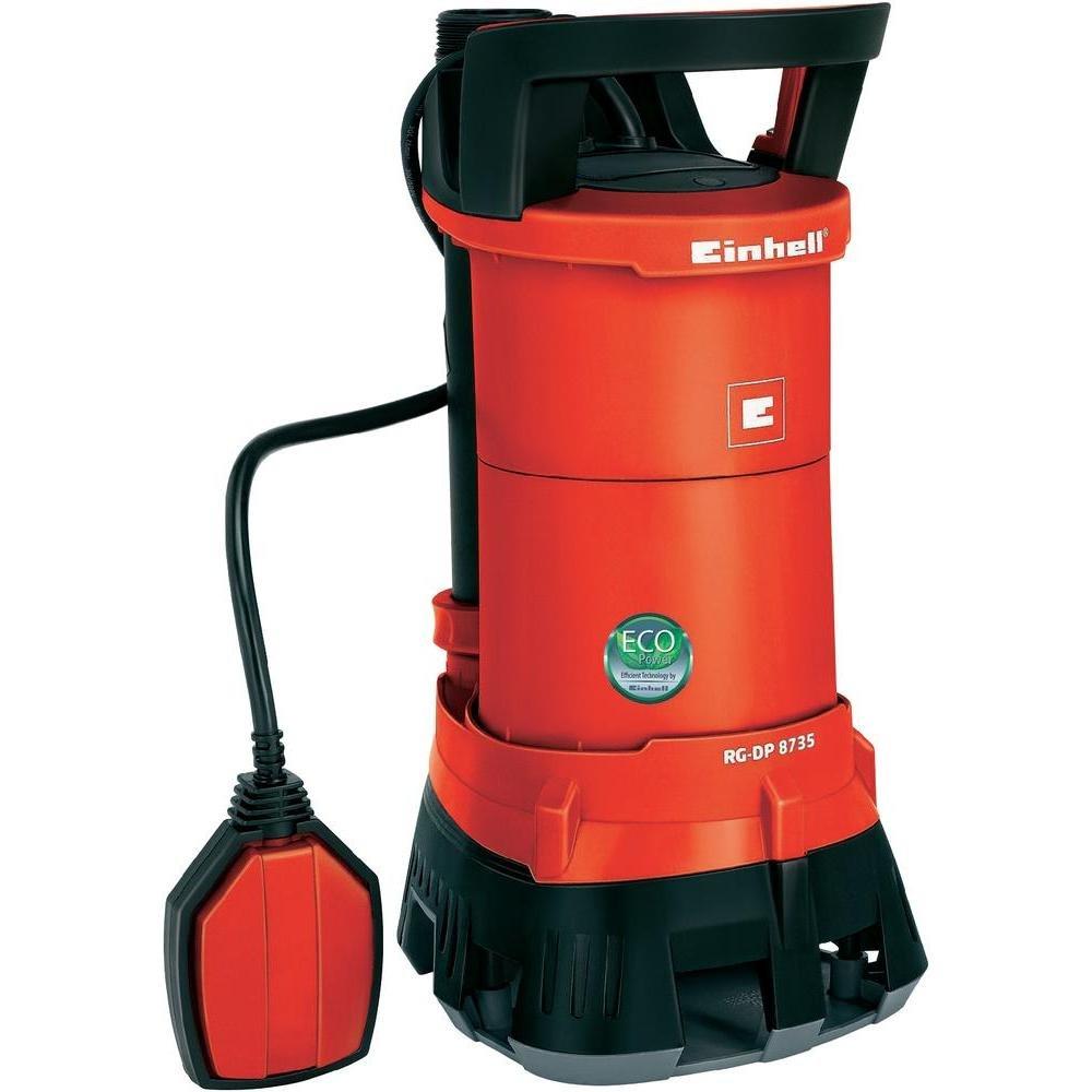 Einhell 4170720 Bomba Sumergible Aguas SUCIAS RG-DP 8735, 780 W, 230 V, Rojo GE-DP 6935 ECO