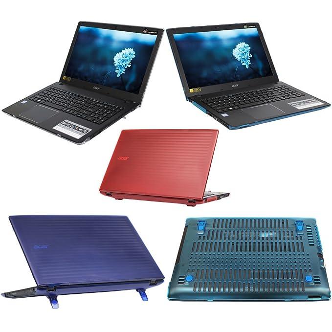 mCover Azul Carcasa Dura/Fundas duras SÓLO para Acer Aspire E 15 E5-575 / E5-575G Serie Ordenador portátil: Amazon.es: Electrónica