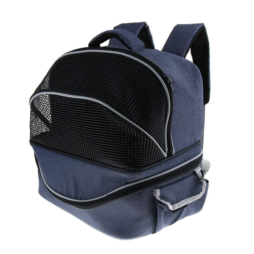 B Blesiya Detachable 2 in 1 Pet Carrier Backpack Adjustable Puppy Cat Dog Carrier Car Seat Safe Travel Bag Sided Bag Nest Kennel