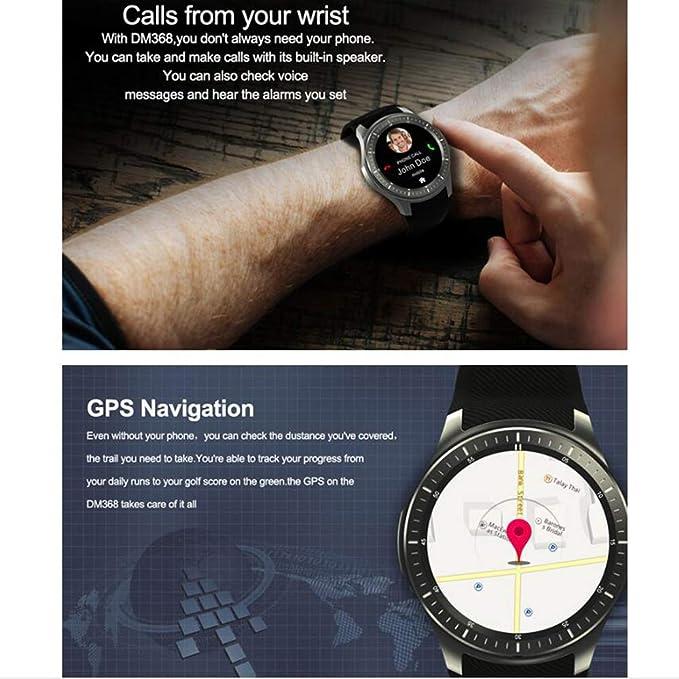 DM368 Reloj Inteligente AMOLED Pantalla Redonda Completa Android ...