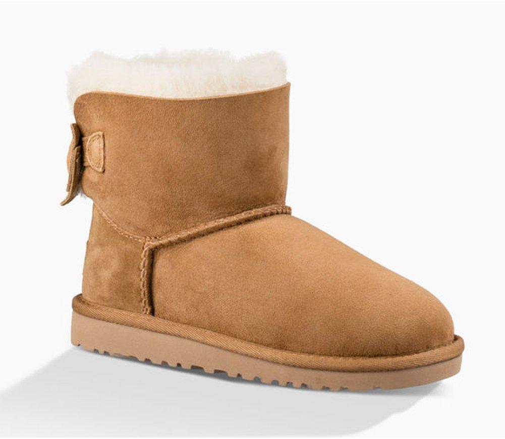 UGG Girls Kandice Boot Chestnut Size 6 M US Big Kid