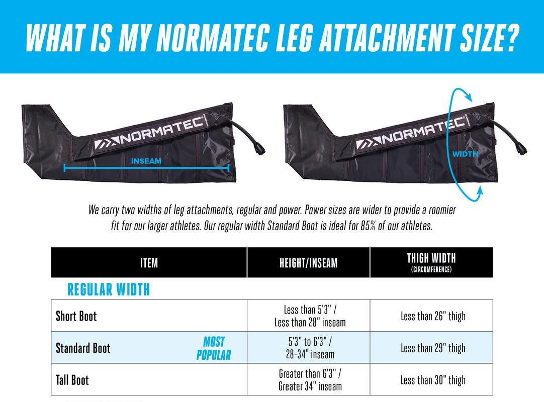 NormaTec 2018 Pulse Leg Recovery System for Athlete Leg Recovery Patented Dynamic Compression Massage Technology (Standard Size (5'4'' - 6'3''))