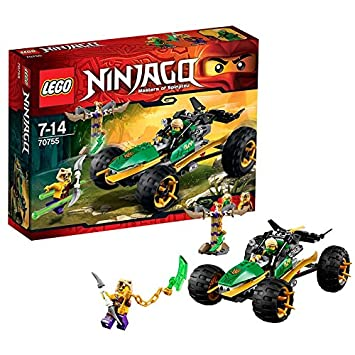 lego ninjago playthmes 70755 jeu de construction le buggy de la jungle