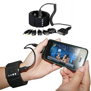 Hinmay - Cargador de batería externa USB para iPhone, PSP ...