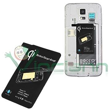 NUEVO módulo cargador inalámbrico qi para Samsung Galaxy S5 ...