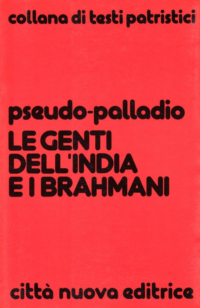 Le genti dell'India e i brahmani (Testi patristici)