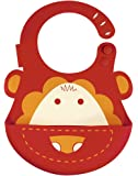 Marcus & Marcus Marcus the Lion Baby Bib - Red