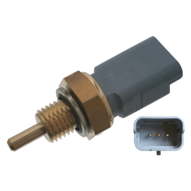 Anschlusszahl 2 febi bilstein 28377 K/ühlmitteltemperatursensor mit Dichtring 1 St/ück Aussengewinde M12 x 1,5