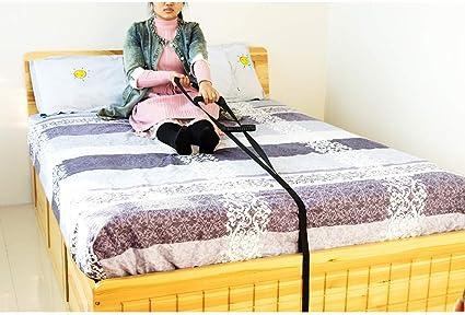 QEES ZYH69 - Estantería ajustable para cama con asa, escalera de cama, marco de seguridad, para adultos, ancianos, discapacitados y discapacitados