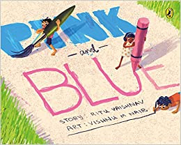 Image result for pink and blue picture book