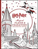Harry Potter: Magical Places and Characters Coloring Book