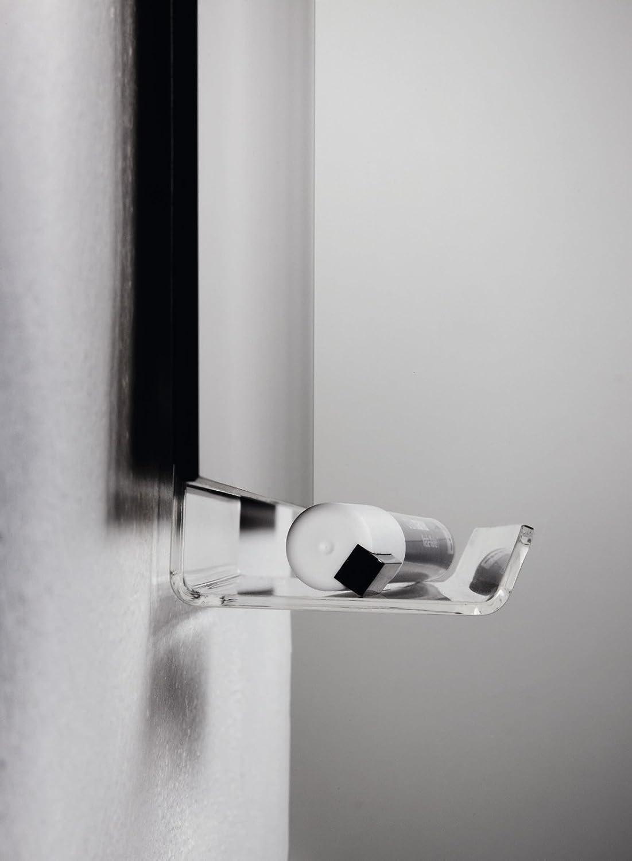 SIGEL GL199 Cubeta para lápices Artverum, 17 cm, de acrílico transparente