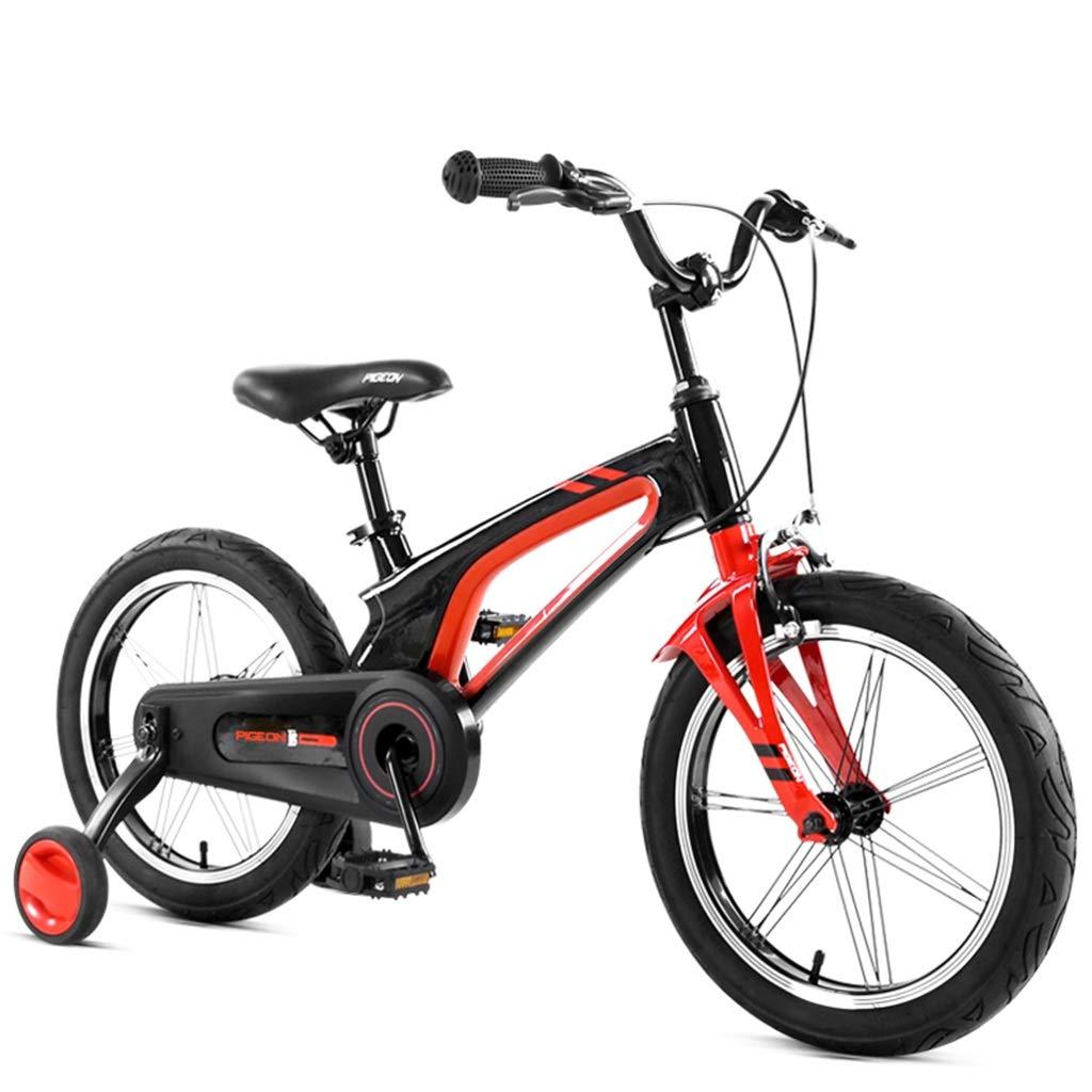 子供用三輪車 男女ペダル学習自転車 屋内プレイバイク アウトドア子供用自転車 312歳自転車 男の子 女の子向け自転車 (Color : Red, Size : 14inch) 14inch Red B07RM4D3RJ