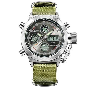 WULIFANG El Deporte De Moda De Relojes De Lujo del Ejército Hombres Marca Famosa Función Reloj