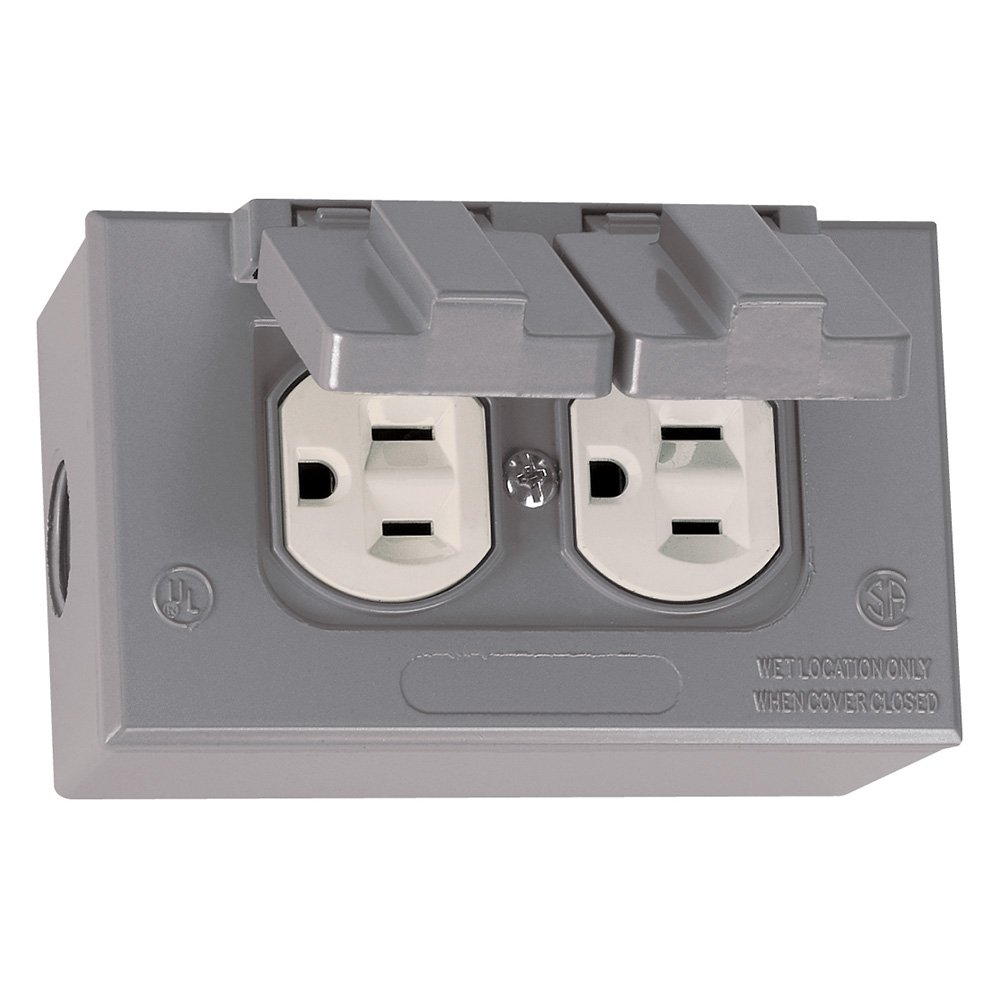 Sigma Electric 16446 Kit of Rectangular Box, Cover and TRWR Duplex ...
