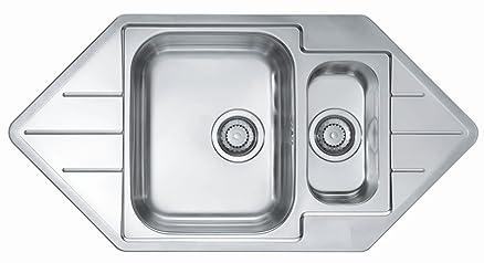 Lavabile in lavastoviglie e bacino lavello cucina lavello Alveus ...