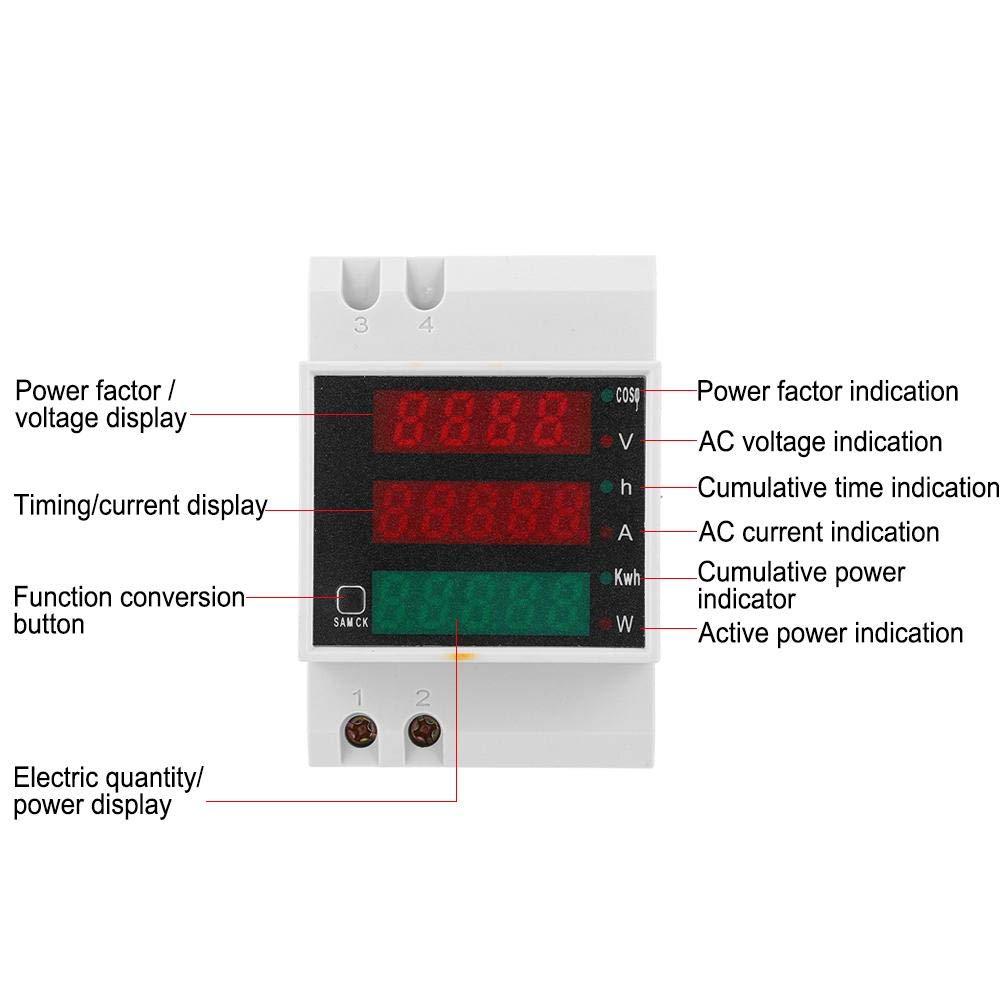 AC200-450V Voltage Meter for Industrial Control Industrial Connector Industrial Supplies Electrical Accessories D52-2047 Current Meter