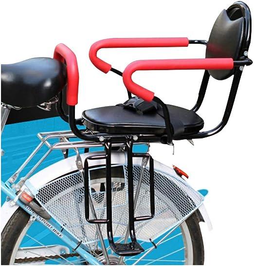 Bicicleta Asiento trasero Seguridad para bebés Espesar Asiento ...