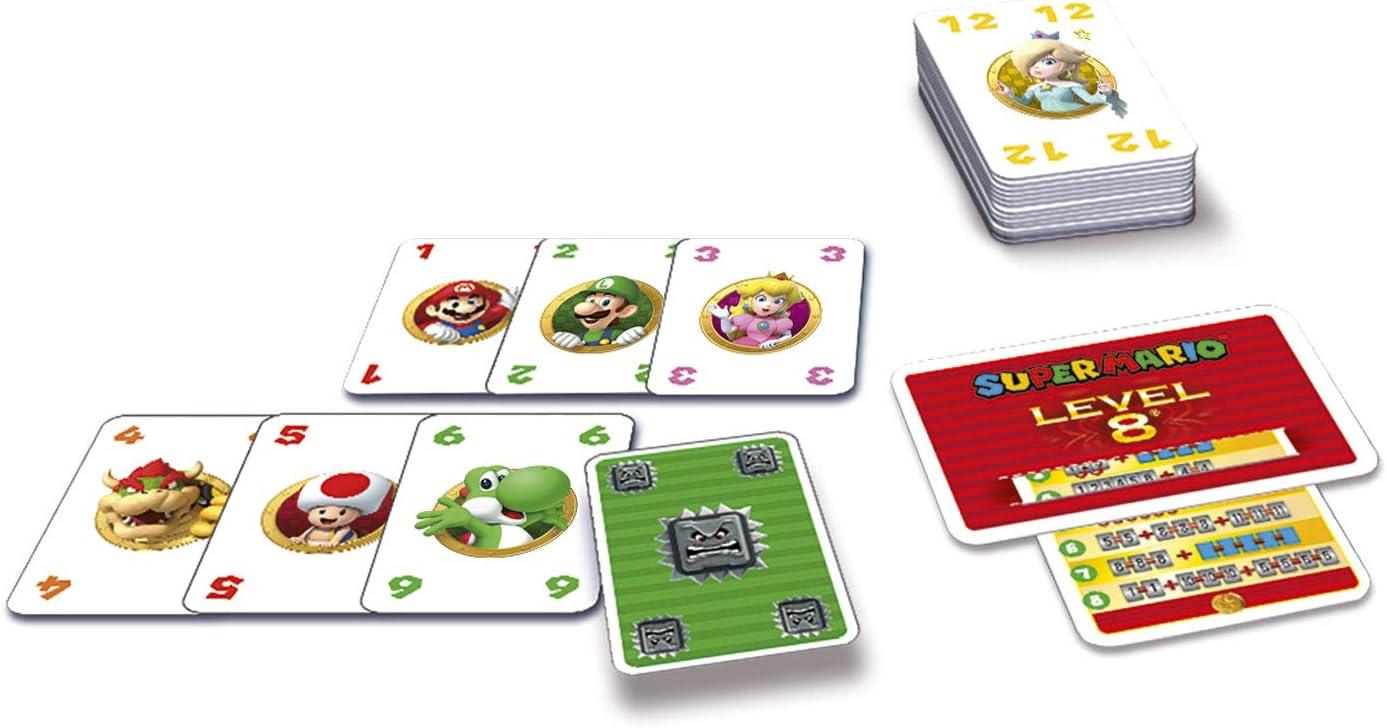 Ravensburger 26070 Super Mario Level 8 - Juego de Cartas: Amazon.es: Juguetes y juegos