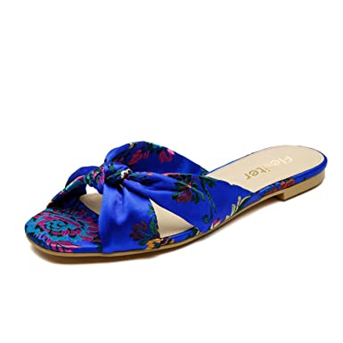 360cc13dd Image Unavailable. Image not available for. Color  Genuine Leather Women Slippers  Handmade ...