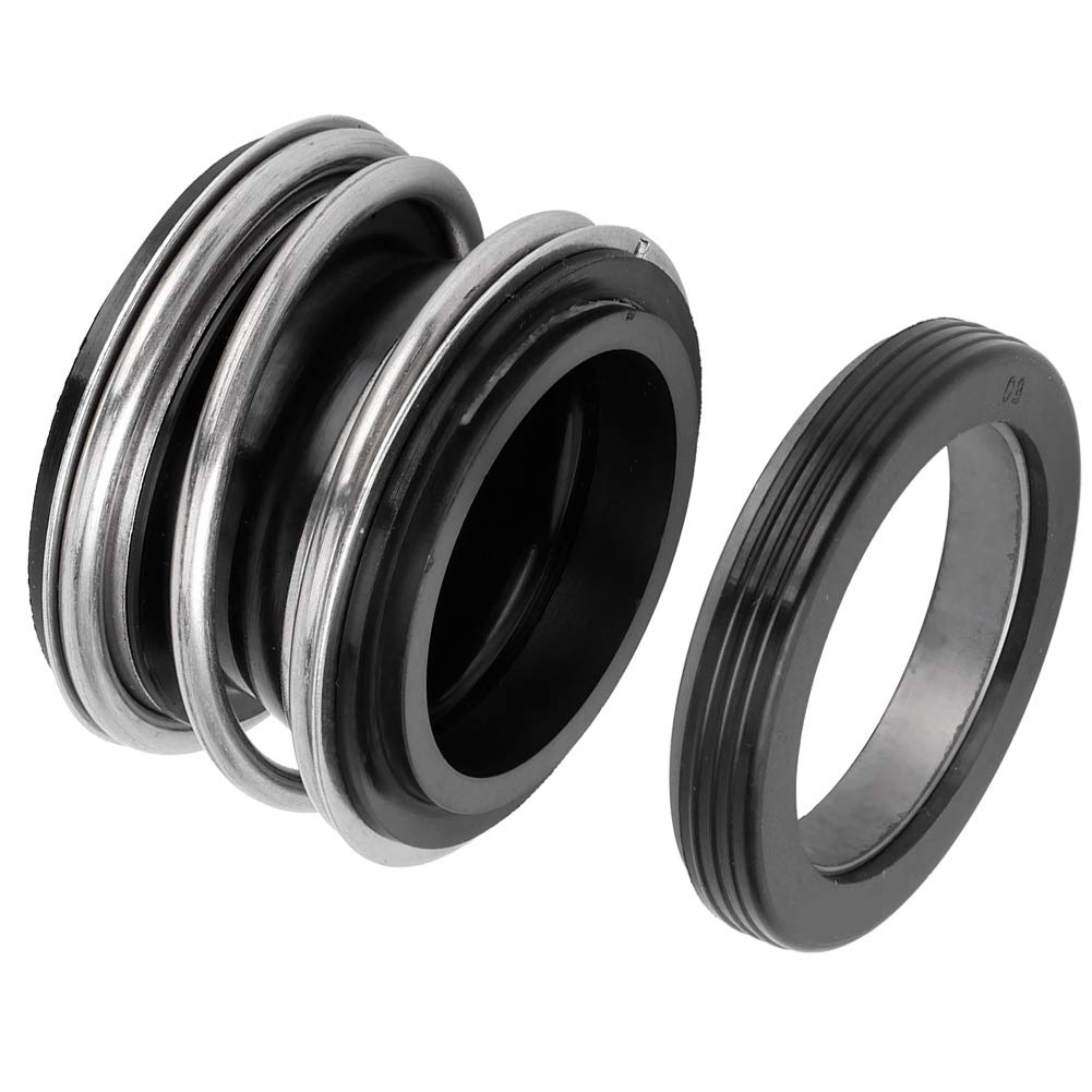 Ladieshow Water Pump Shaft Seal Graphite Silicon Carbide Mechanical Sealing Ring Spring MG1//109‑35 Seal Spa Hot Tub Pump Wet End Seal Part
