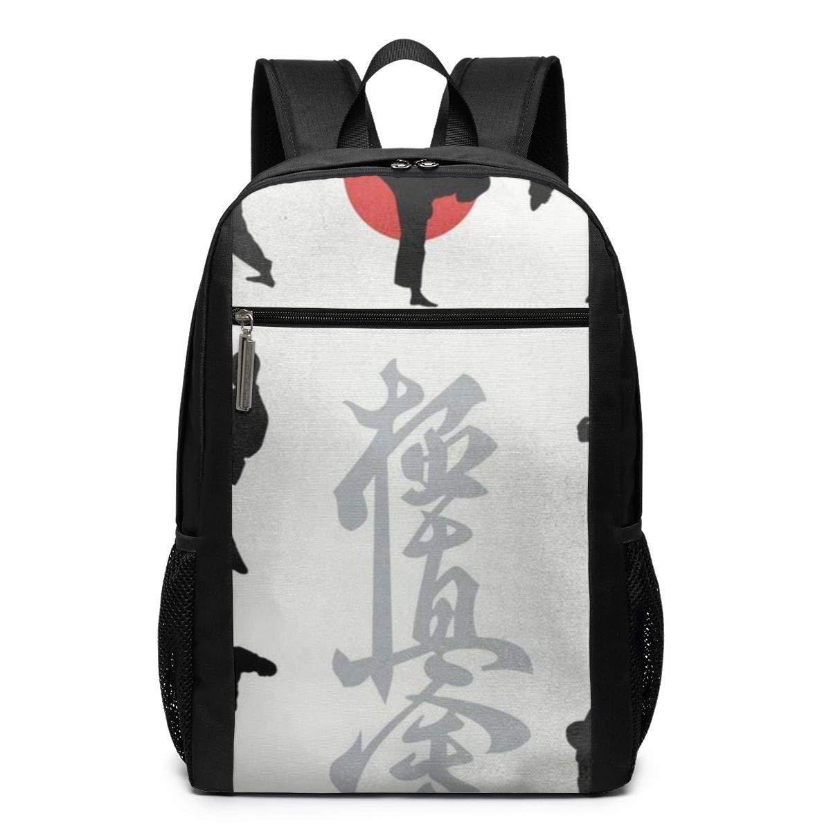 d8e091cd7bb5 Amazon.com: Japan Karate Travel Laptop Backpack, Anti Theft Backpack ...
