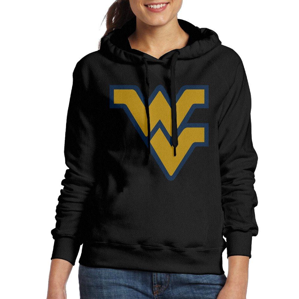 JJVAT Women's Sweater University Of West Virginia Black