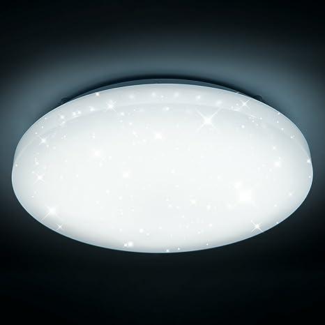50 W LED de techo o pared blanco redondo lámpara de techo ...