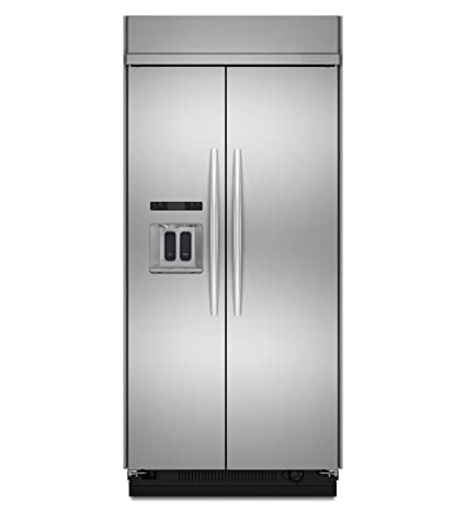 Incroyable KitchenAid Architect Series II KSSC42QVS 42 Side By Side Refrigerator    Stainless Steel