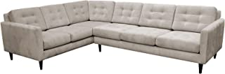product image for Maxwell Large L Sectional LAF (Bennett Almond)