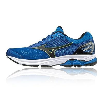 Mizuno Wave Rider 21 Running Shoes - SS18 Blue  Amazon.co.uk  Shoes ... 947d4b55e2ec1