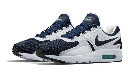 new product 04032 45655 Foot Locker Nike Air Max Zero QS 789695-104 Running Casual White Midnight