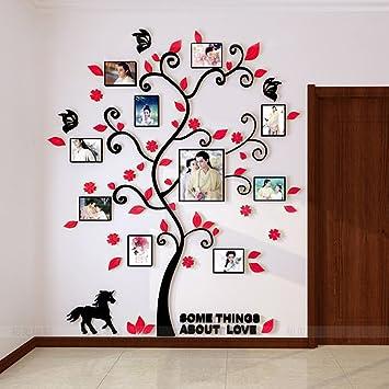 Alicemall Stickers Autocollants Muraux Amovibles 3D en Acrylique ...