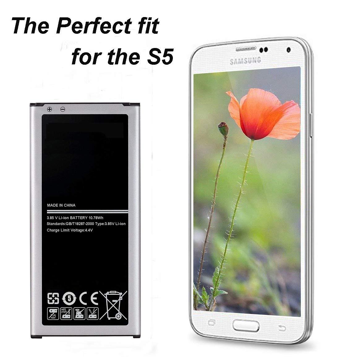 Amazon.com: Cleantt - Batería de repuesto para Samsung ...