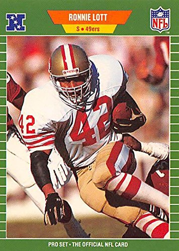 - Ronnie Lott Football Card (San Francisco 49ers Safety) 1989 Pro Set #379