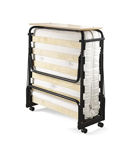 super popular 42c9f 6e912 JAY-BE Chatsworth Single Folding Guest Bed with Pocket Sprung Mattress