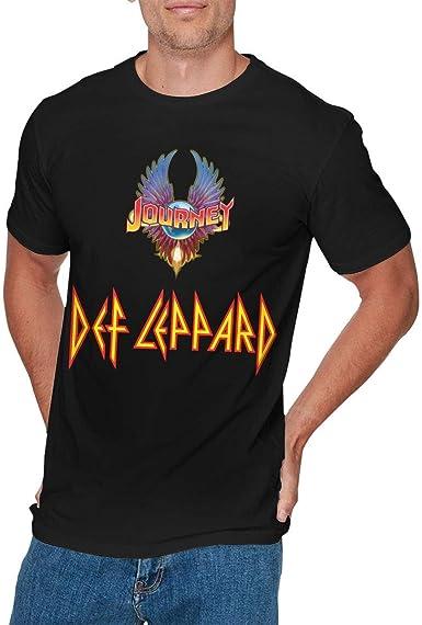 Camisa Deportiva de Manga Corta para Hombre, Mens Cool Journey LEPPARD5 Tshirt Black: Amazon.es: Ropa y accesorios