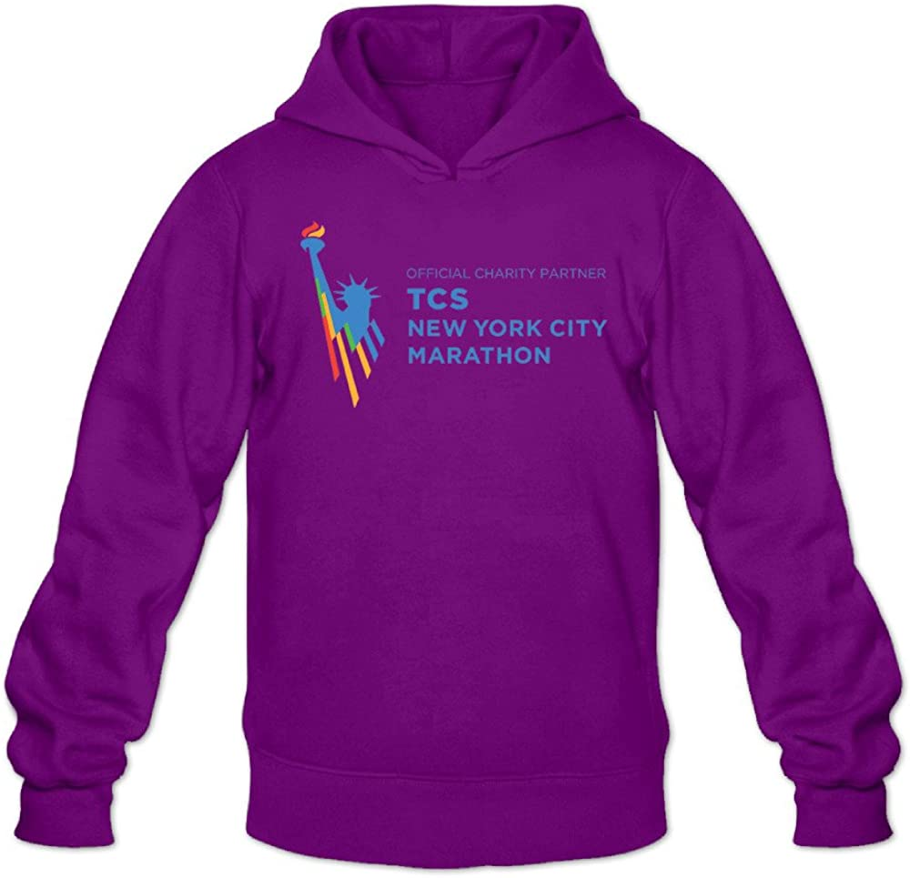 Mens 2016 TCS New York City Marathon 100/% Cotton Long Sleeve Hoodies Sweater