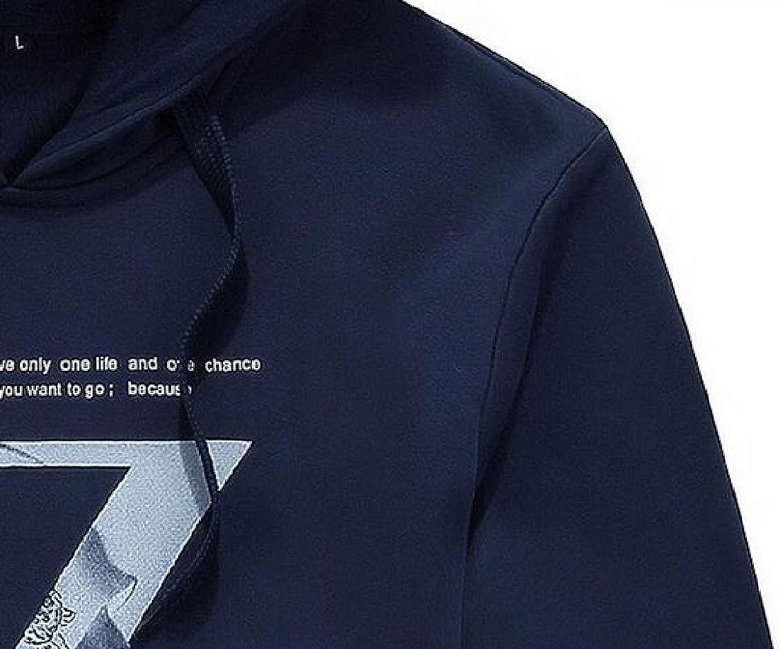 Sweatwater Men Casual Sweatsuit Hoodie Sweatshirt Two Pieces Tracksuit Set