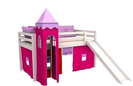 Letti A Castello Per Bambini Piccoli : Letto per bambini con scivolo cameratta bambino letto letto a