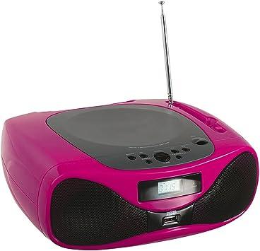 Clipsonic tes179p Unidad Radio CD Bluetooth para Smartphone, Color ...